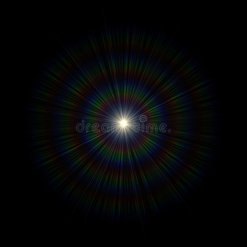 Download Light Flare Special Effect. Vector Illustration. Royalty Free Stock Photos - Image: 28878148