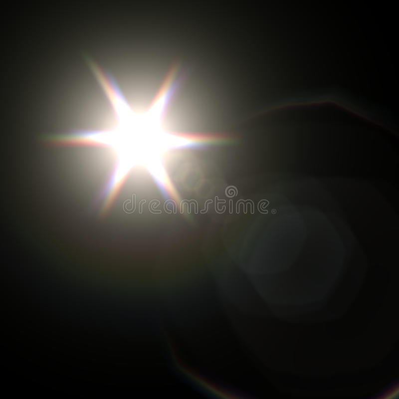 Light flare special effect. vector illustration. This is file of EPS10 format vector illustration