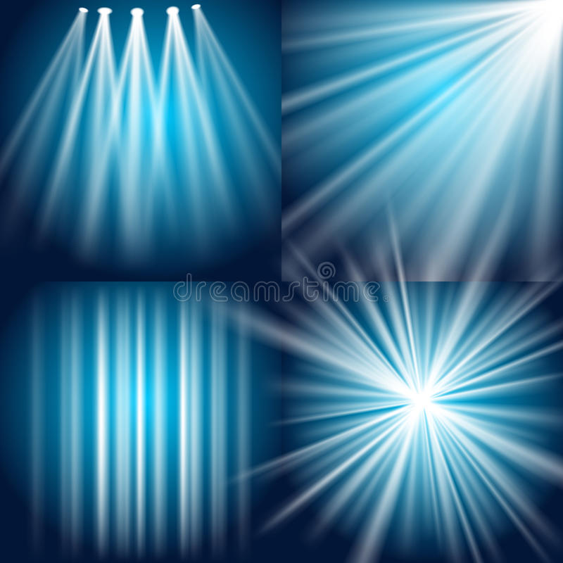 Light, Flash, Explosion And Glow Stock Images