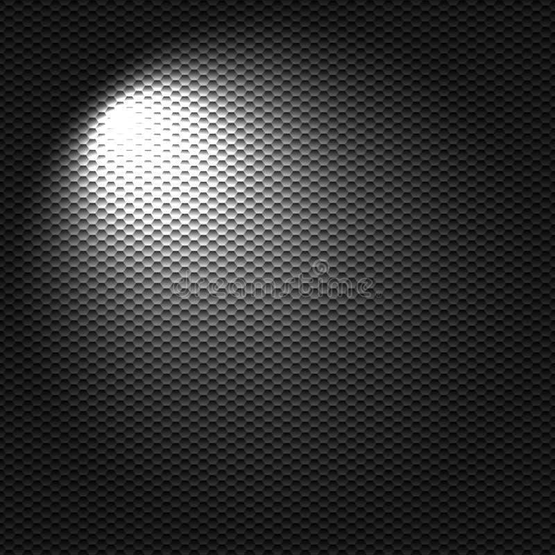 Light flashlight stock illustration