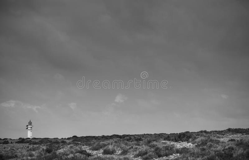 Light in formentera royalty free stock photography