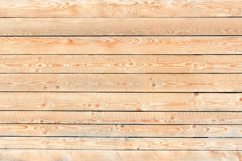 Light fresh boards. Horizontal arrangement. Close-up royalty free stock images