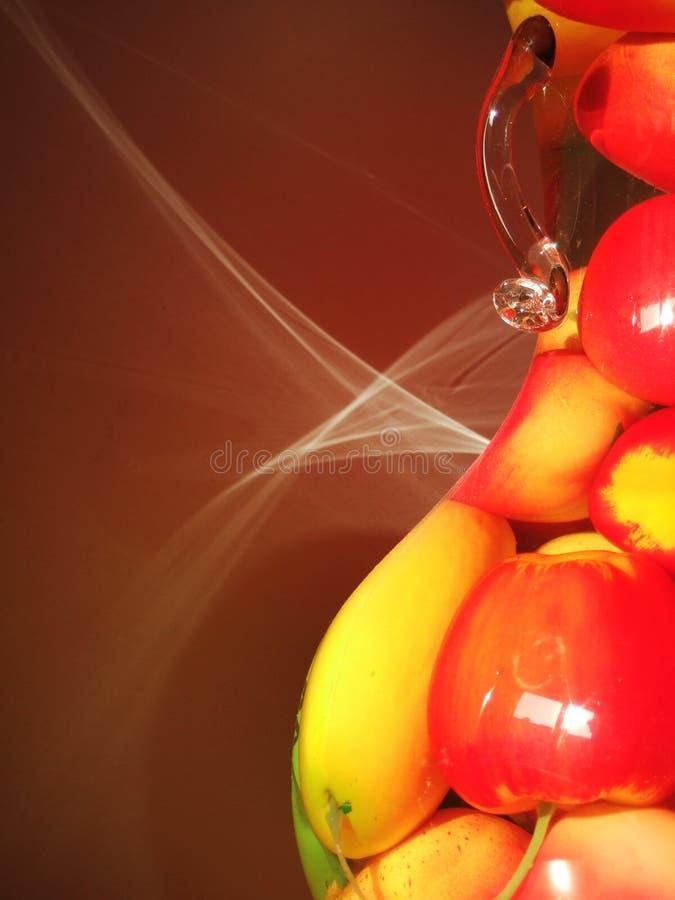 Download Light of fruit pot stock photo. Image of furnishings, light - 3379864