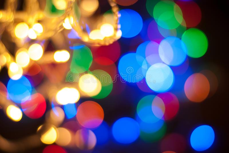Light Glitter Vintage Backgroundbokeh Backgrounddefocused Happy BirthdayValentine Day Christmas Lights