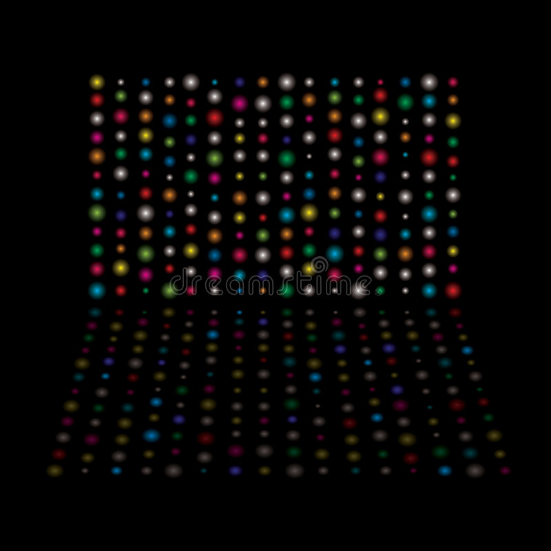 Light Glow Equaliser Royalty Free Stock Photo