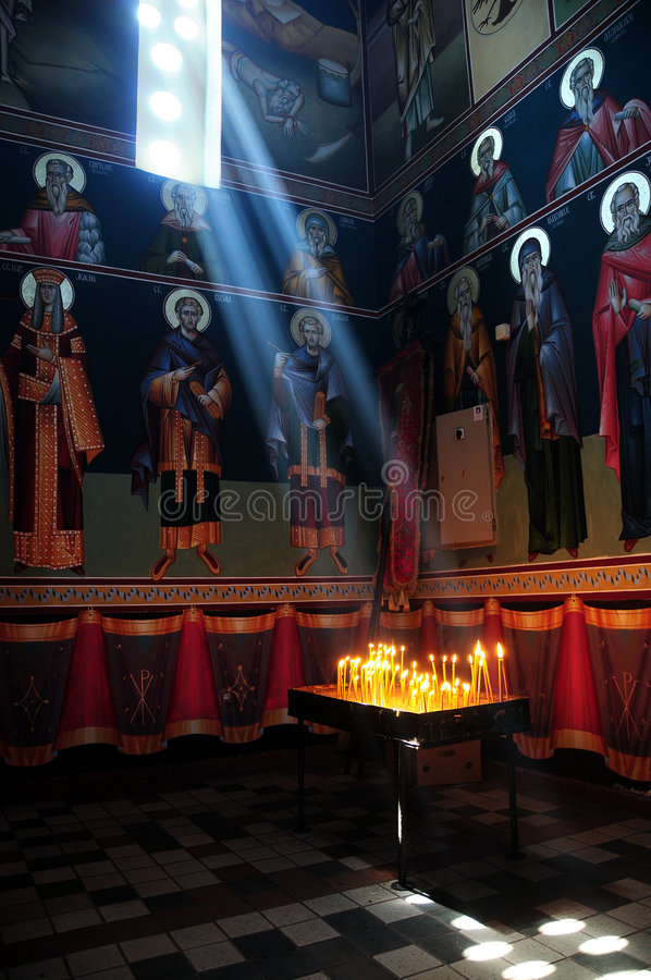 Light from God stock image