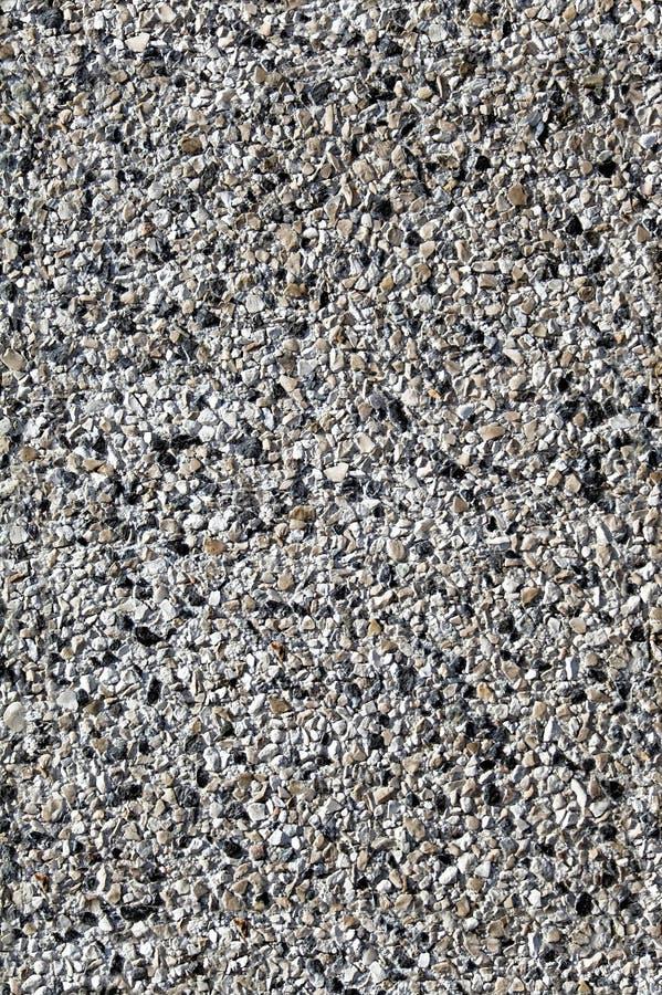 Light gravel sidewalk texture stock photo