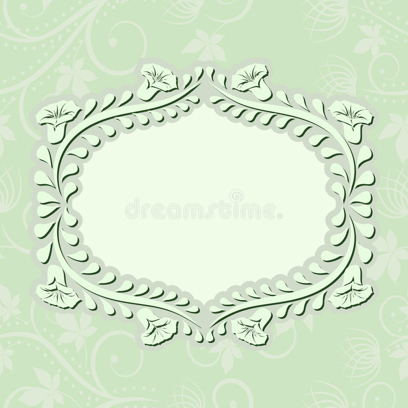 Download Light green background stock vector. Image of flower - 29585860