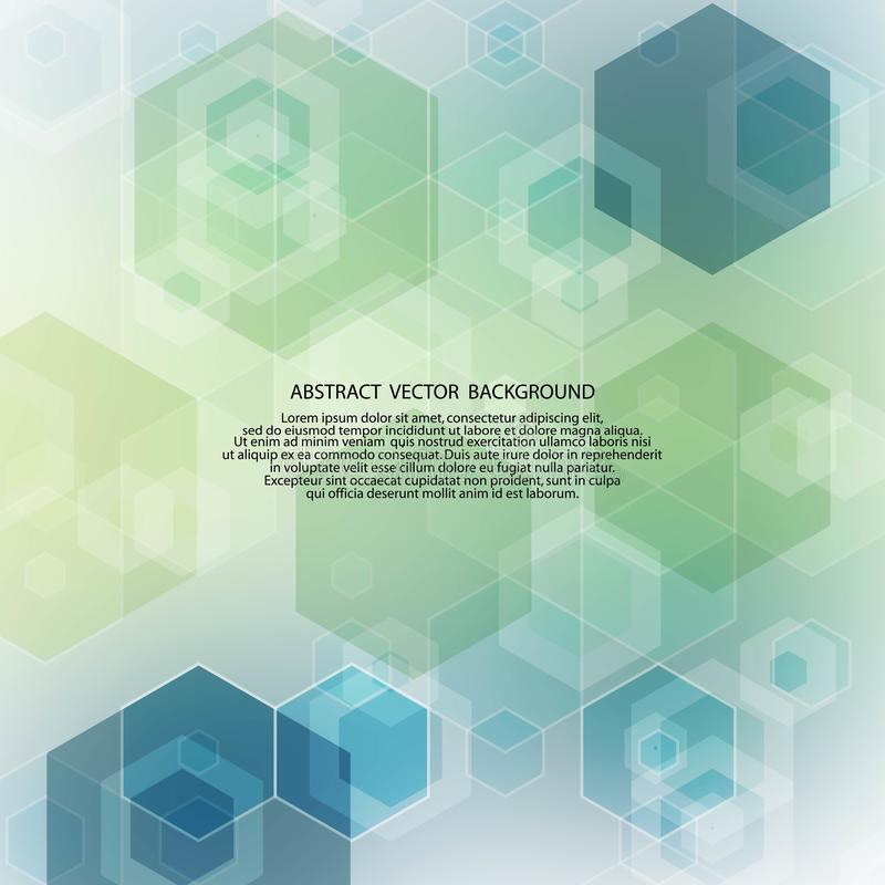 Light green and blue hexagon background. polygonal style. geometric design. eps 10. Light green and blue hexagon background. polygonal style. geometric design royalty free illustration