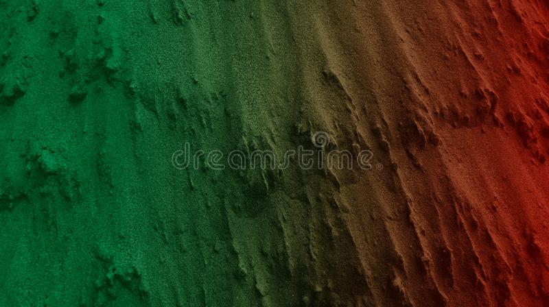 Dark Green Lighter Brown Color Mixture Effects Abstract Textured