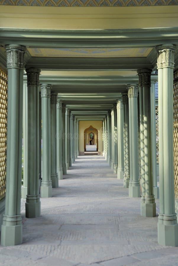 Free Light Green Hallway Stock Image - 1544791