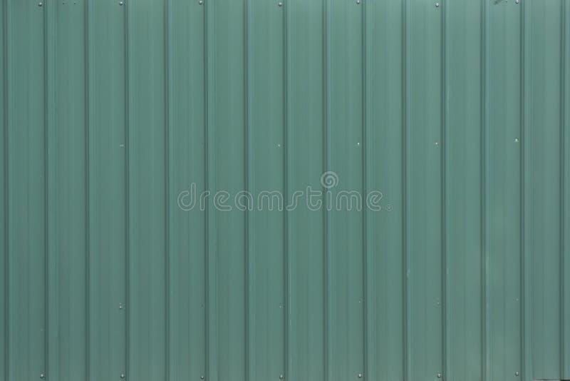 A Light Green Metal Corrugated Sheet Stock Photo Image
