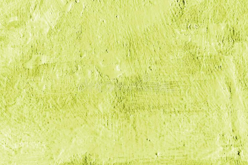 Light green paint. Abstract painted decorative wall background.  stock photography