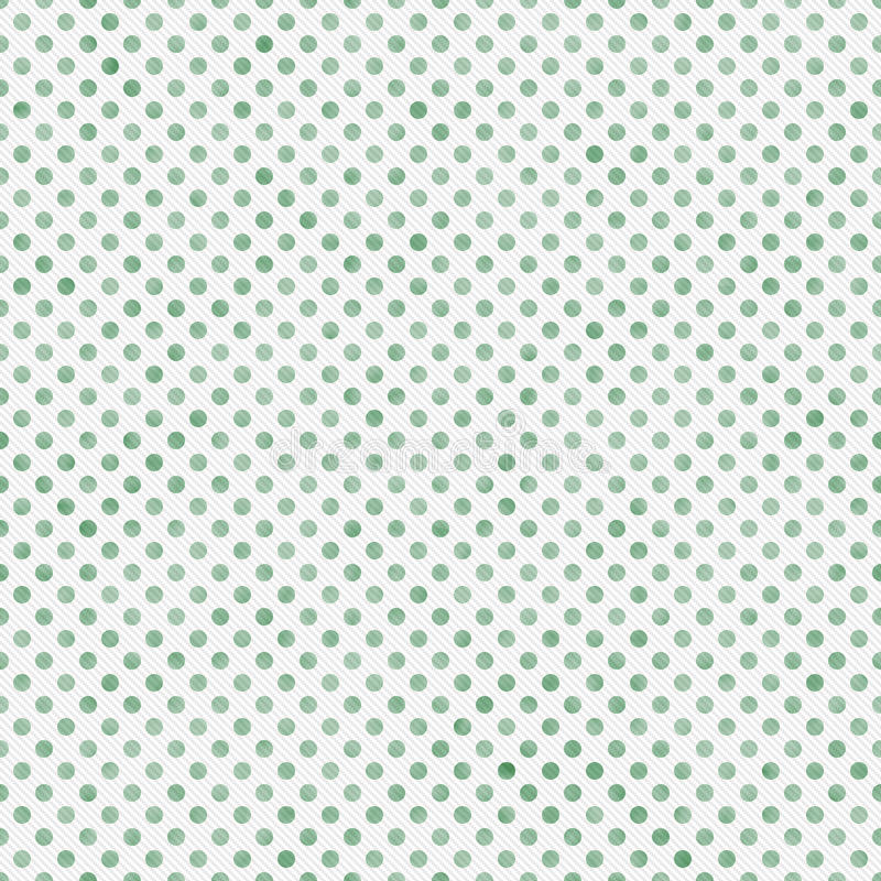 Light Green and White Small Polka Dots Pattern Repeat Background. That is seamless and repeats royalty free stock photography