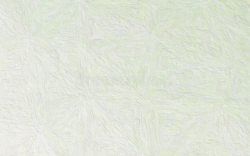 Light grey Impasto with large brush strokes background illustration. royalty free stock photography