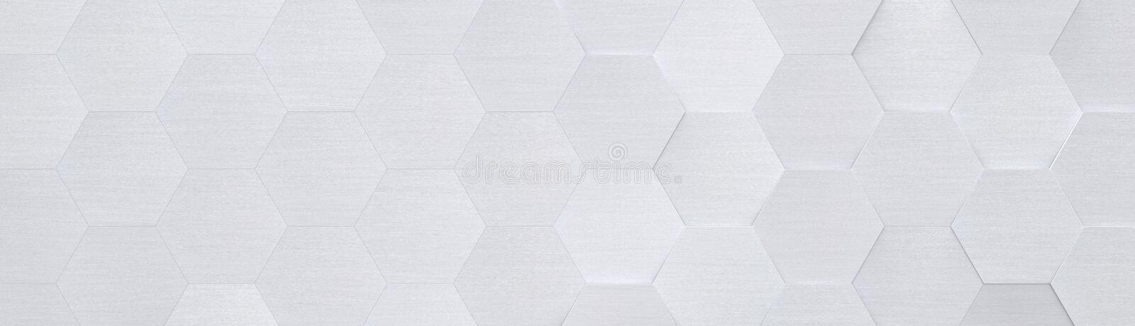 Light Grey Metal Background Website Head 3D Illustration. Light grey metal background with copy space website head 3d illustration royalty free illustration