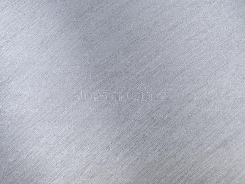 Light Grey Metal Textures With Reflection Stripes Stock