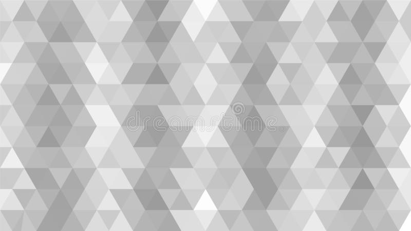 Light Grey, Silver, Triangular low poly, mosaic abstract pattern background, Vector polygonal illustration graphic, Creative stock illustration
