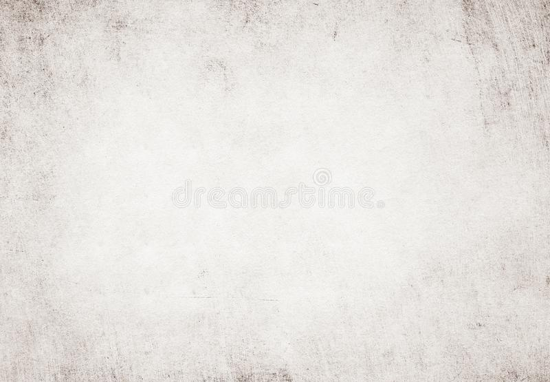 Light grunge white recycled parchment paper texture. stock photos
