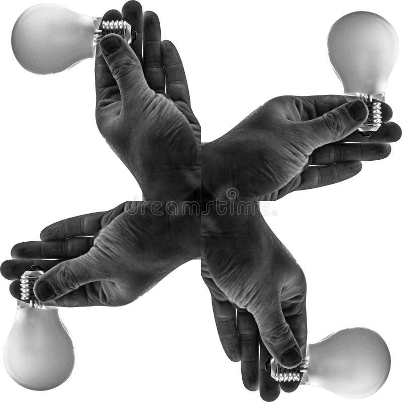 Light Hands stock image