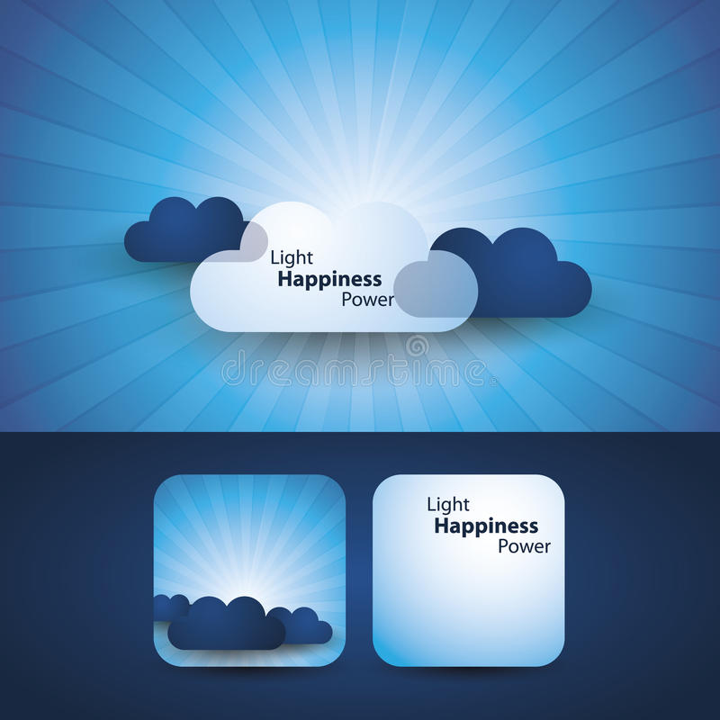 Download Light, Happines, Power - Flyer Or Cover Design Stock Vector - Image: 22023964