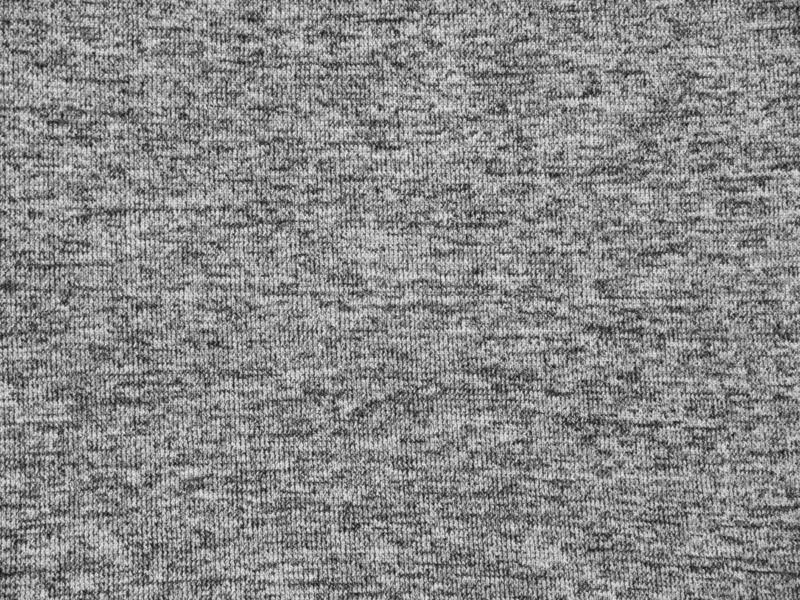 Light heather gray activewear fabric texture royalty free stock images