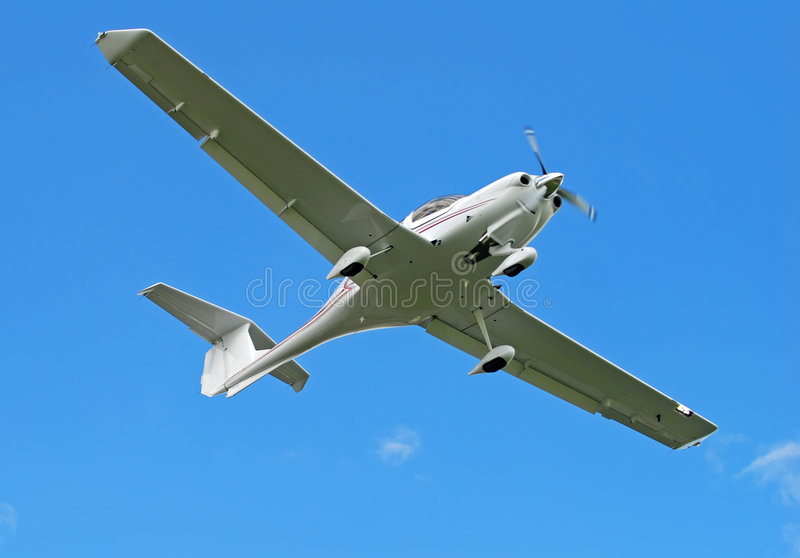 Download Light hobby aircraft stock photo. Image of below, obeject - 3357786