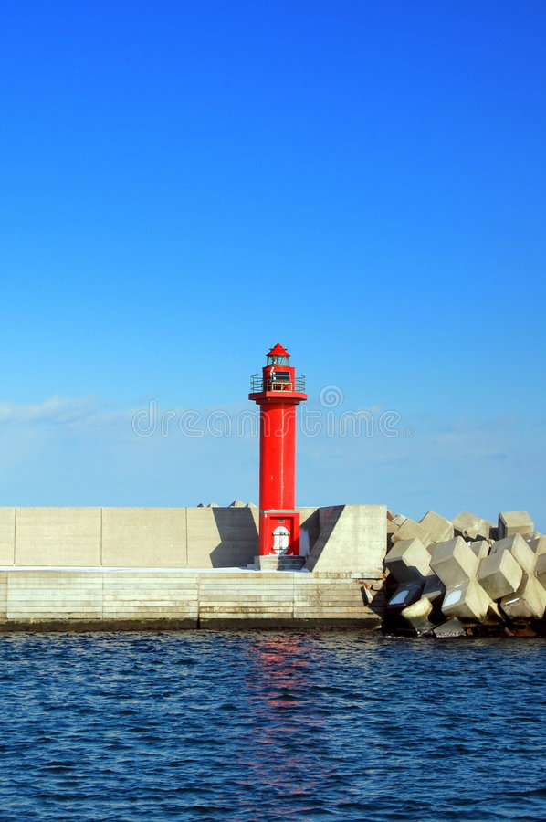 The light house royalty free stock images