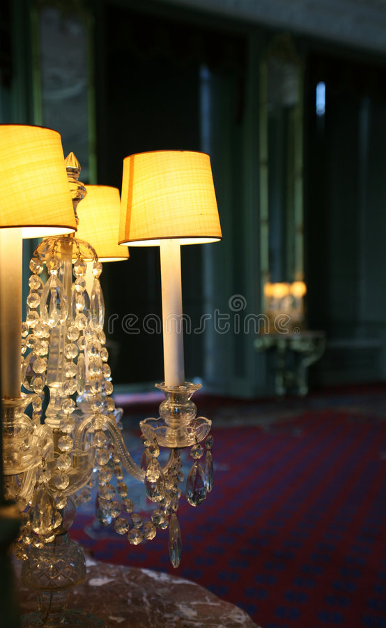 Light in interior royalty free stock photography