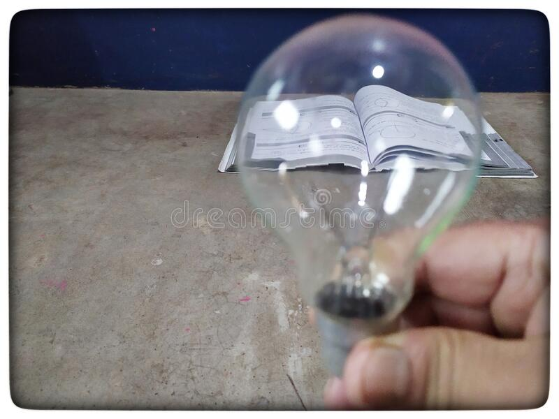 Light of knowledge royalty free stock images