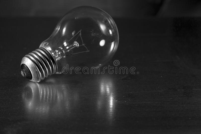 The light of the last generation. The last generation of people was illuminated by this type of lamp that has become a symbol stock images