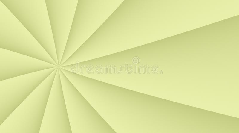 Light lemon yellow smooth spinning turning lines background illustration design. Computer generated abstract fractal background illustration featuring a light stock illustration
