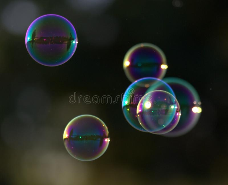 Light, Macro Photography, Close Up, Liquid Bubble royalty free stock photography