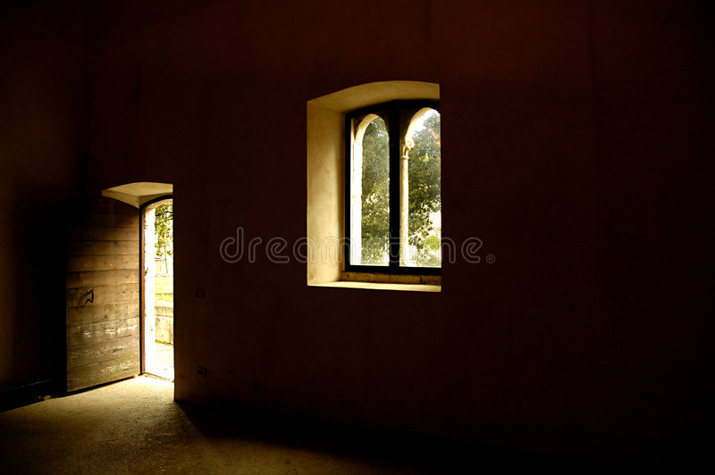 Light of the Middle Ages stock image
