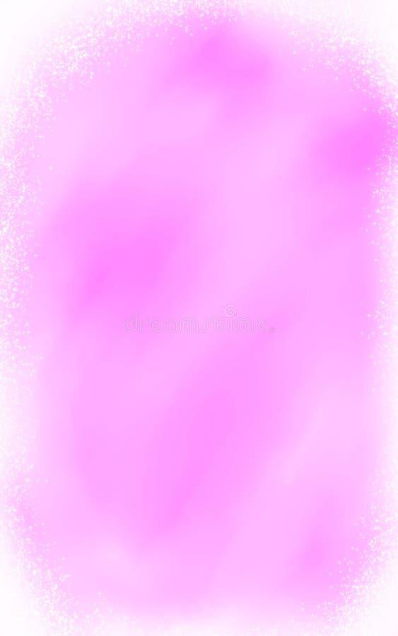 Light misty pink glitter cloud background stock photo