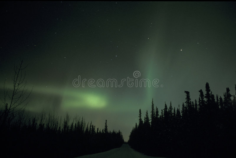 light northern στοκ φωτογραφία με δικαίωμα ελεύθερης χρήσης