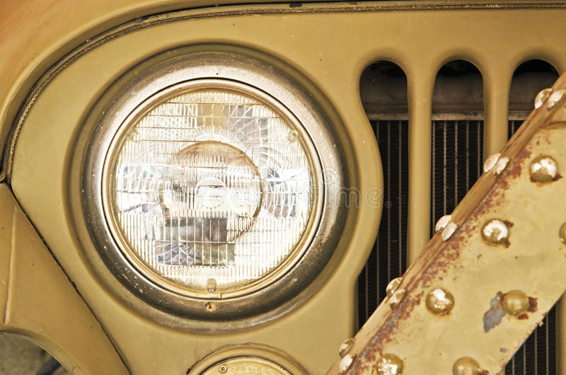 Light Old Car royalty free stock photos