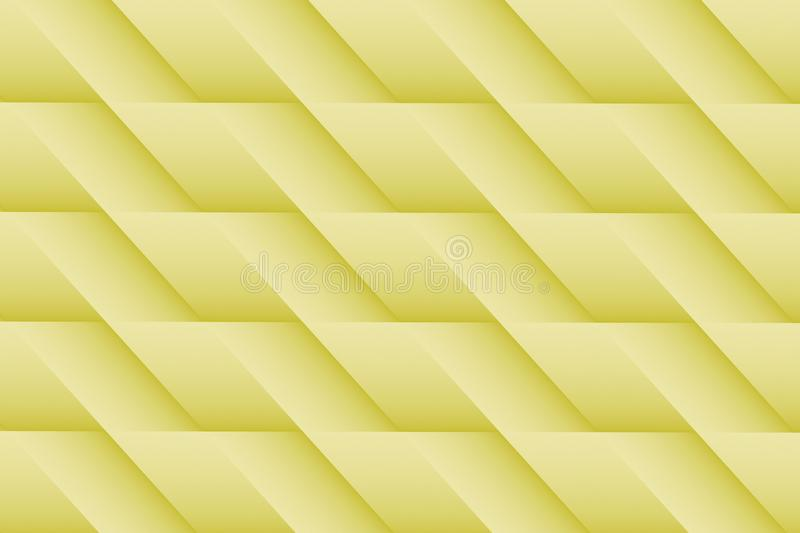 Light pale yellow lines angles abstract wallpaper background illustration royalty free illustration
