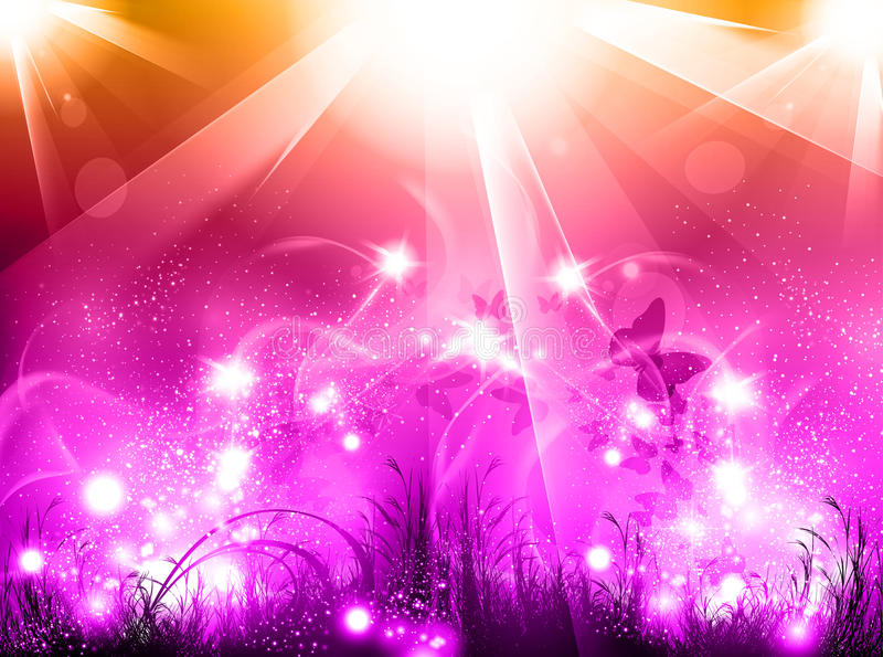 Light party glow background vector illustration