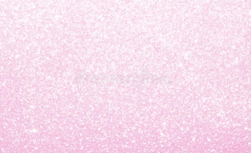 Light pastel pink, glitter, sparkle and shine abstract background. royalty free stock photos