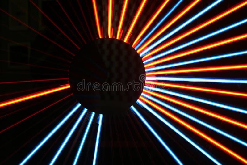 Light Patterns royalty free stock photography