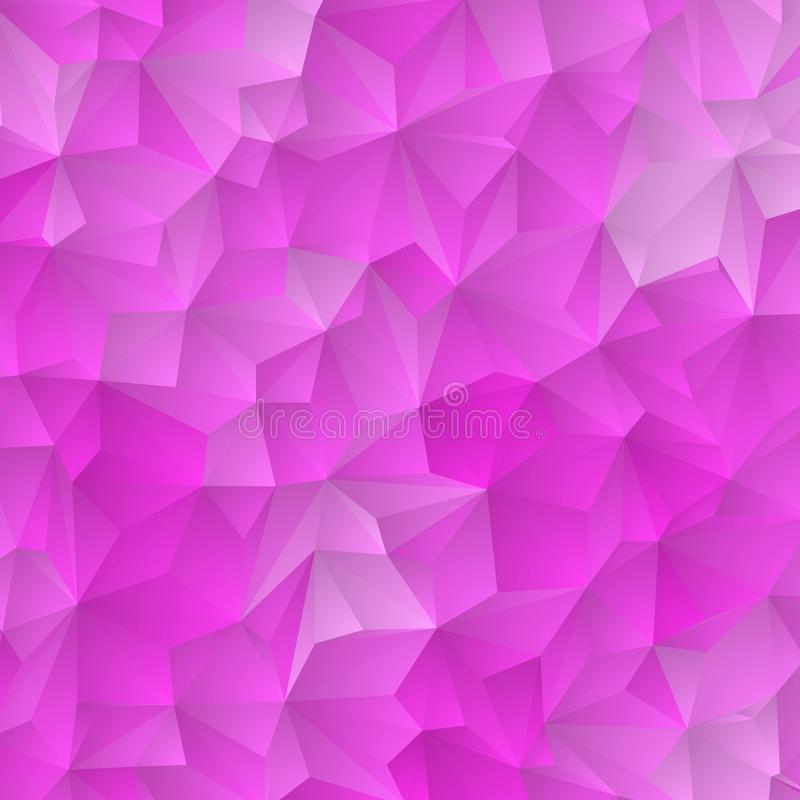 Light Pink, Blue vector polygonal template. Colorful illustration in abstract style with triangles. Textured pattern for stock illustration