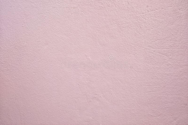 Light Pink Dirty cement wall background stock images