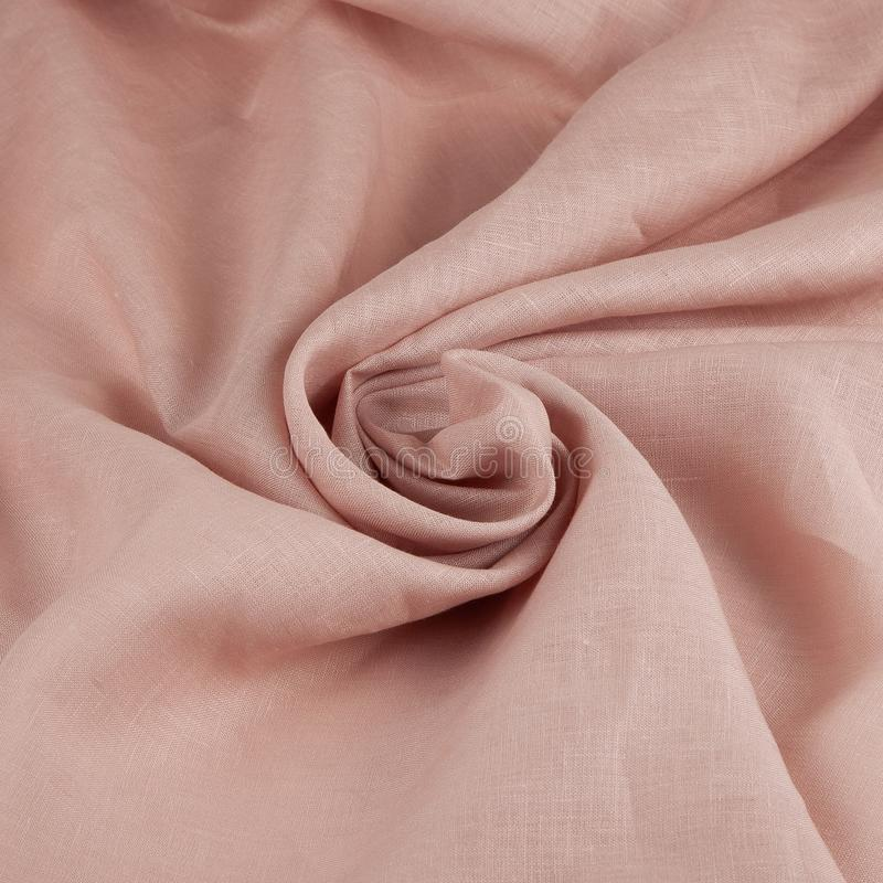 Light pink fabric texture background stock photography
