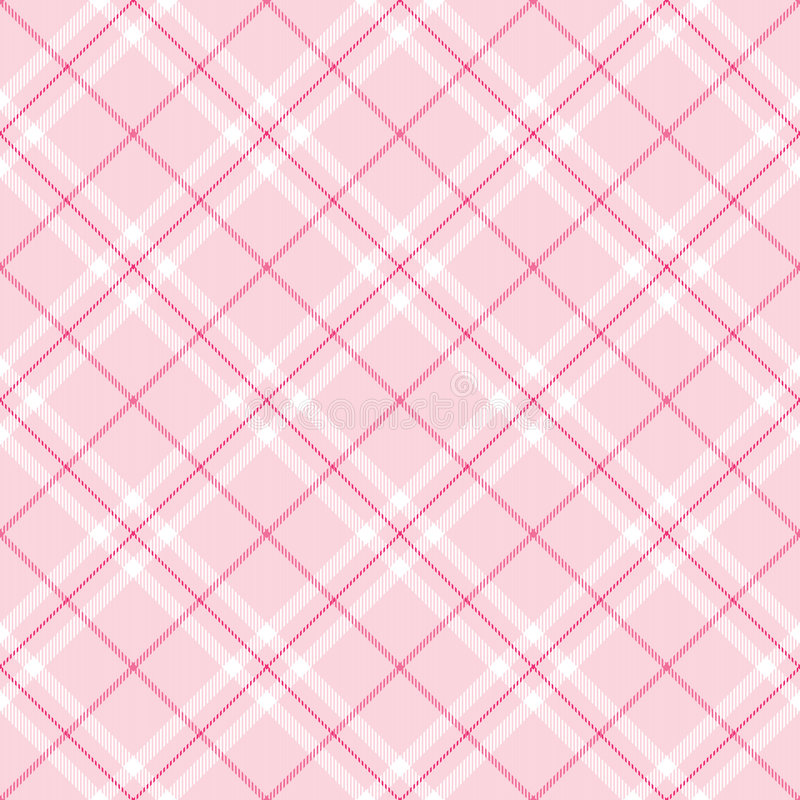 Light Pink Plaid royalty free illustration