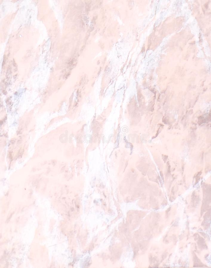 Light pink and white marble texture background stock photography