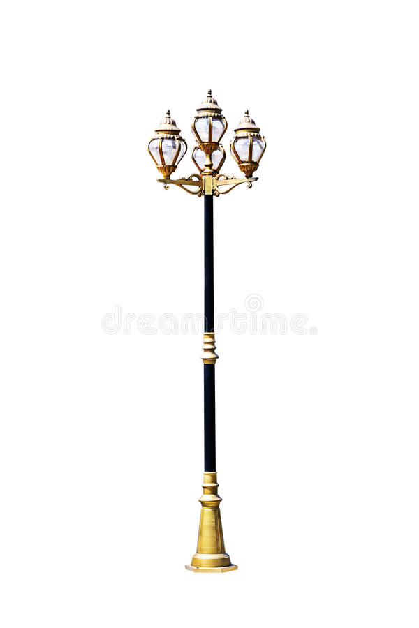 Download Light Pole Isolated Stock Photo - Image: 34355780