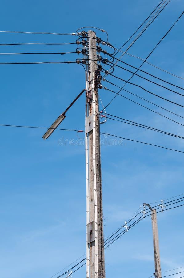 Download Light Pole stock image. Image of pole, line, background - 34271125
