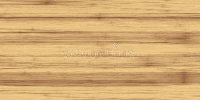 Light poplar wood texture background vector illustration