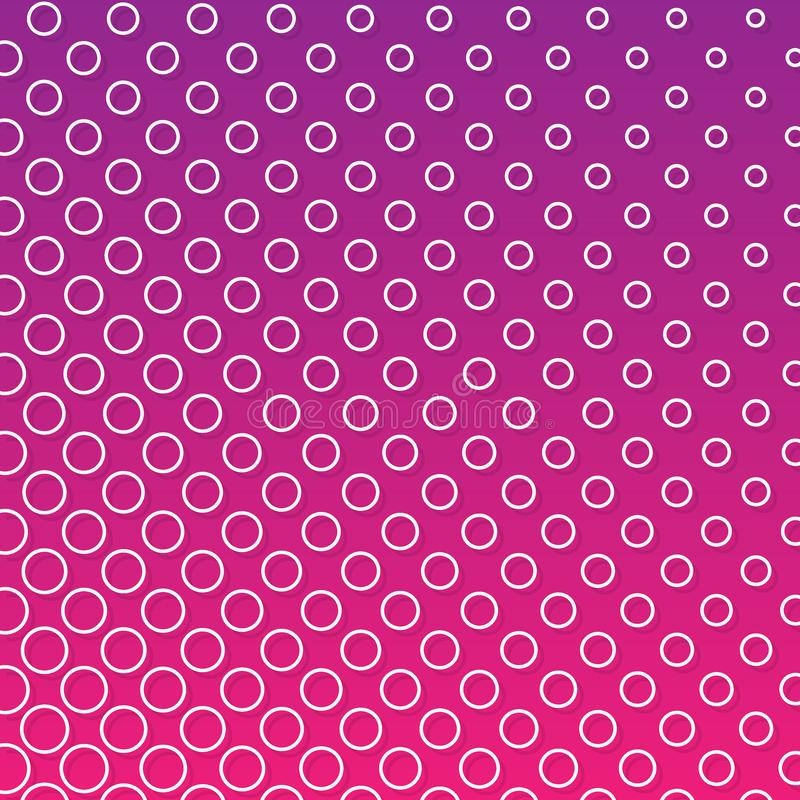 Light purple colors, vector modern geometrical circle abstract background. Dotted texture template. Geometric pattern in halftone vector illustration